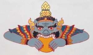 Phra_Rahu_in_Thai_art_depicted_eating_up_the_Sun_causing_eclipse